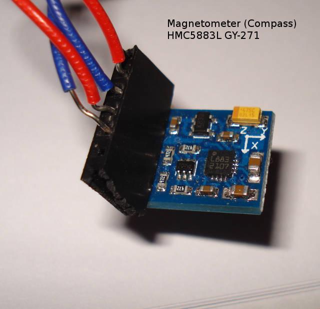 Arduino - Compass HMC5883L