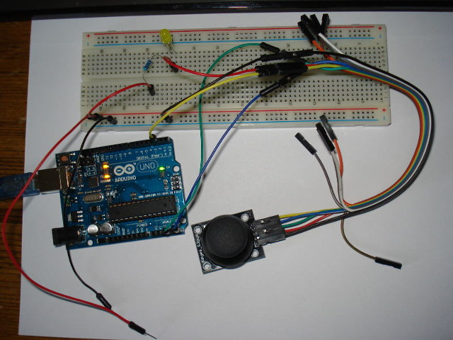 arduino basics wiring up the joystick rh goodliffe org uk Fisher Snow Plow Minute Mount Wiring Diagram Chevy Truck Wiring Diagram