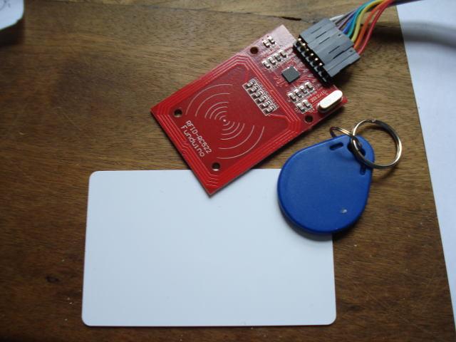 Lezione 11: Come utilizzare il RFID reader