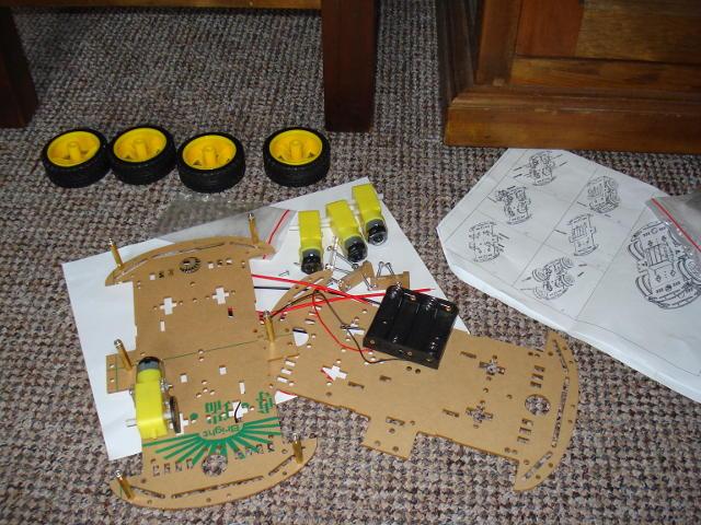 Arduino robot car project
