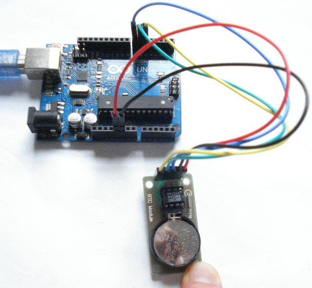 Arduino basics real time clock rtc ds